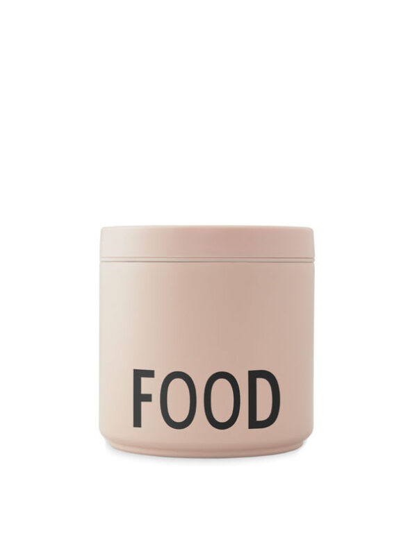 Design Letters Termo Lunch box i nude 530 ml