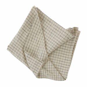 OYOY grid dug 260x140 cm med tern