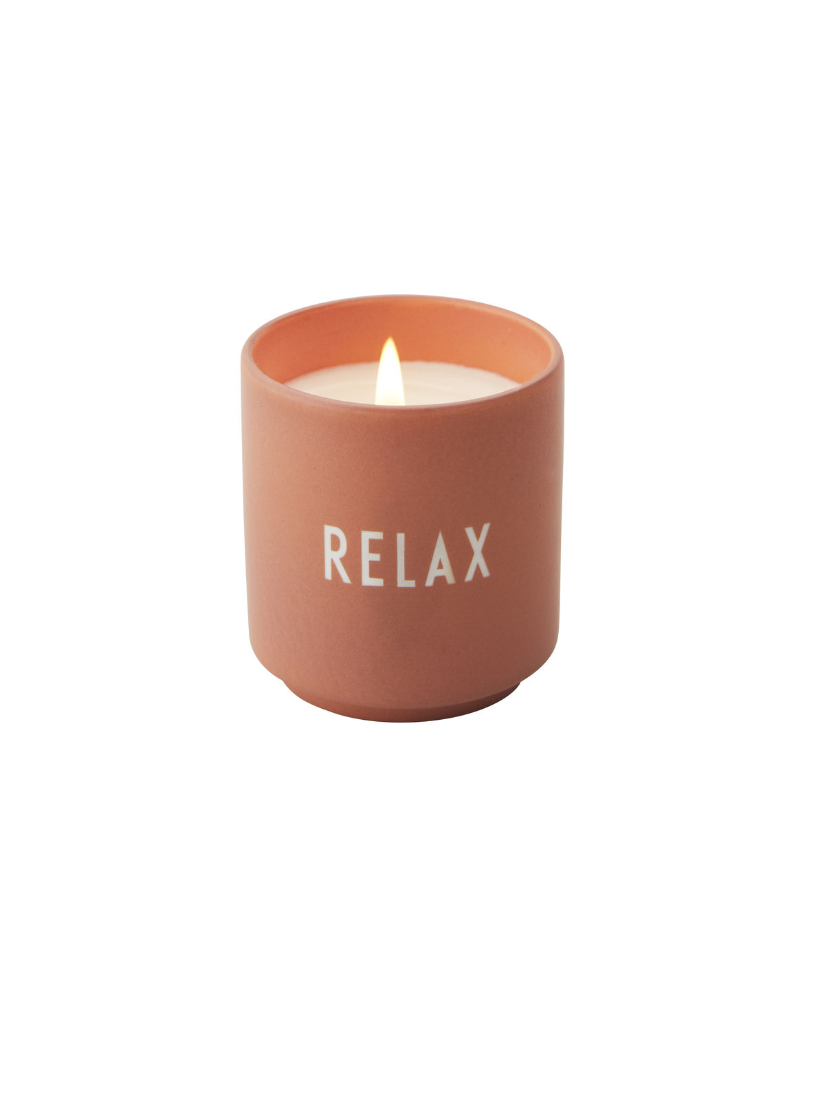 Design Letters Duftlys RELAX – Nude