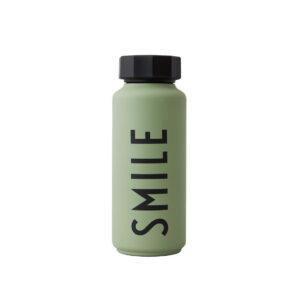 Grøn termoflaske fra Design Letters