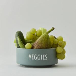 Snackskål fra Design Letters i grøn