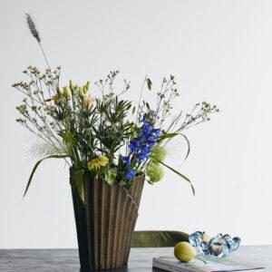 NEVIS vase fra Nordal i bronze