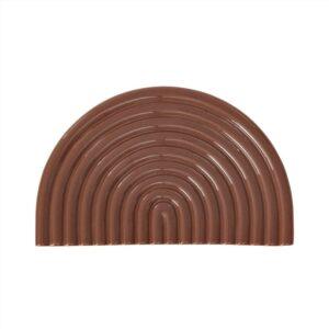 OYOY rainbow fad i brun keramik