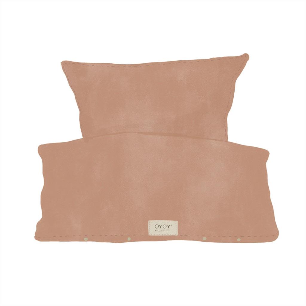 Køb OYOY Nuku sengetøj økologisk bomuld – Dark Powder