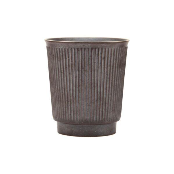 Berica keramik krus uden hank fra House Doctor i brun