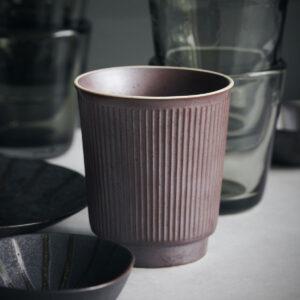 Berica krus uden hank fra House Doctor i brun keramik