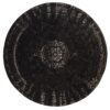 VENUS gulvtæppe fra Nordal i mørkegrå og sort