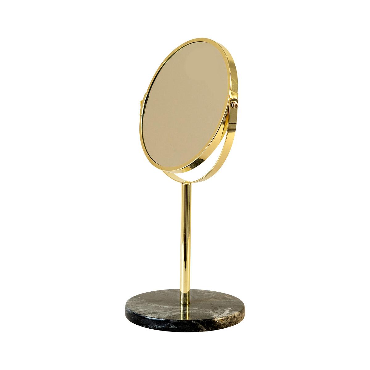 MOUD Home Reflections bordspejl – sort marmor