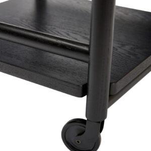 Rullebord fra Hübsch i sort