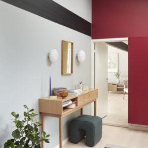 Konsolbord egetræ med rum fra Hübsch i natur