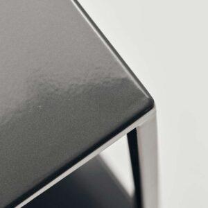 House Doctor reol model B sort stål