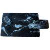 MOUD Home aflangt skærebræt i sort marmor