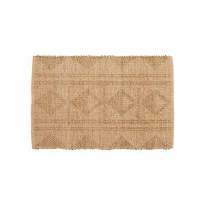 Nordal amaya gulvtæppe / dørmåtte i jute og søgræs