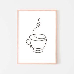 BilledGrossisten coffeetime plakat