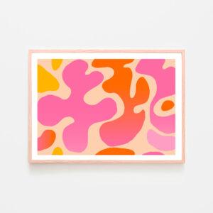 BilledGrossisten pink splash plakat