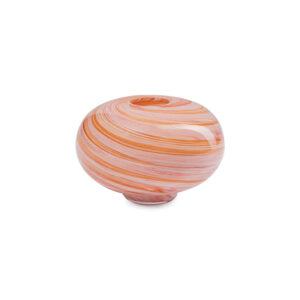 Eden Outcast twirl mini vase i pink glas