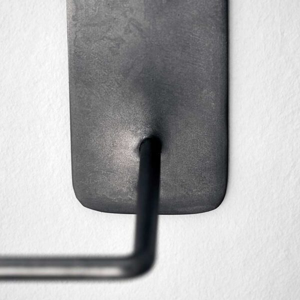 House Doctor håndklædeholder dobbelt i sort