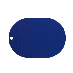OYOY Ribbo dækkeserviet i blå silikone