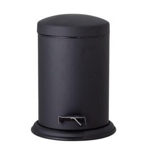 Bloomingville Loupi toiletspand i mat sort rustfri stål